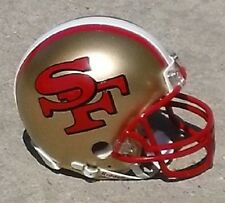 SAN FRANCISCO 49ERS CONCEPT MINI FOOTBALL HELMET