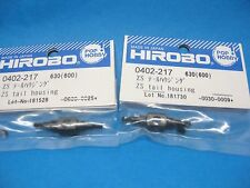 2 Pk Original Hirobo Heckrotor Nabe 0402-217 ZS Tail Housing