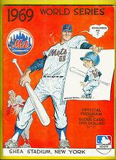 1969 New York Mets World Series Program Seaver, Ryan, McGraw, Hodges, Berra +