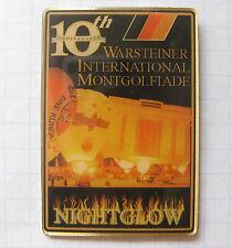 WARSTEINER MONTGOLFIADE  / 10th WIM / NIGHTGLOW ... Bier-Pin (101j)