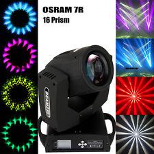 230W Osram 7R Zoom Moving Head Gobo Licht 20CH 16 Facetten Prisma DMX DJ Bühne