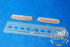 Model Factory Hiro 1/12 Oval Air Intake Funnel Mesh with Mount for Tamiya kit