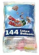 """Package of 144 High Quality 12"""" Balloons in 10 Metallic Colors from Uplifting Ba"""