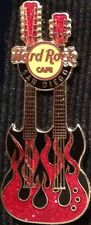 Hard Rock Cafe SAN DIEGO 2006 Flaming Double Neck GUITAR PIN #2 500 - HRC #33304