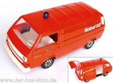 VW Bus T3 - Schabak Modell 1:43 - Feuerwehr Syncro Transporter - Rot