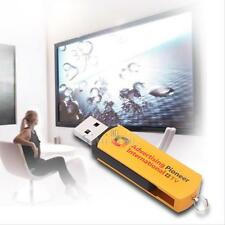 S1E New Multifunctional Golden USB Worldwide Internet TV And Radio Player Dongle