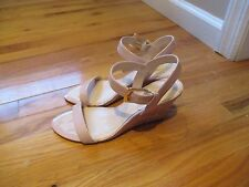 Nine West sandal wedge size 8.5 women shoes
