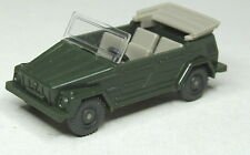 Wiking 1:87 VW 181 APERTO-VERDE SCURO