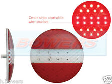 LED AUTOLAMPS EU140TRM 12V/24V LOW PROFILE SLIM ROUND STOP/TAIL/FOG LIGHT LAMP