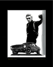 Steve McQueen Artist Proof Lithograph BULLITT COOL With COA