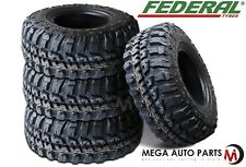 4 X Federal Couragia M/T 35X12.50R20 121Q 10Ply Off Road All Terrain Mud Tires