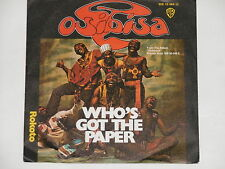 "OSIBISA -Who's Got The Paper- 7"" 45"