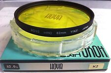 Hoya 82mm Yellow #K2 K2 Multi-Coated (HMC) Glass Lens Filter MC Y(K2) HMC 82 mm
