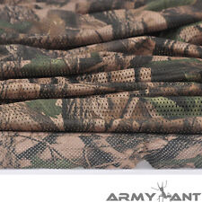 "Mossy Oak Camo Camouflage Net Cover Army Military 60""W Mesh Fabric Cloth"
