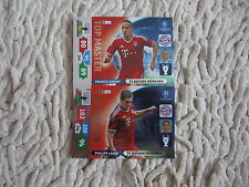 PANINI ADRENALYN XL CHAMPIONS LEAGUE 2013 2014  top master ribery lahm bayern