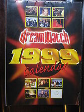 1999 DREAMWATCH CALENDAR ALIEN STAR TREK WARS STINGRAY AVENGERS SPACE1999Dr WHO