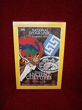 """National Geographic Curiosity Kit """"treasure of Ancient Cultures"""" New, Sealed"""
