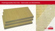 Dämmplatten Fassadendämmung von Rockwool / Putzträgerplatte Steinwolle 200mm