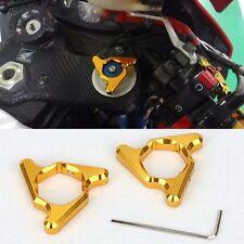 22mm Gold Fork Preload Adjusters For Honda CBR600RR CBR900RR CBR1000RR VTR1000