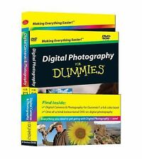 Digital Photography for Dummies by Mark Justice Hinton, NEW