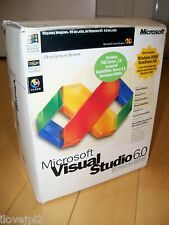 Microsoft Visual Studio Enterprise Edition 6.0 6 Basic FoxPro C++ J++ 628-00403