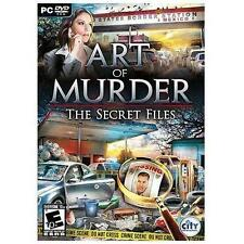 Video Game PC Art Of Murder The Secret Files NEW SEALED