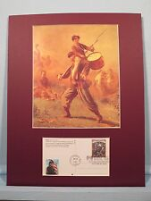 """The Yankee Drummer Boy - """"Johnny Shiloh"""" and First Day Cover of the Shiloh stamp"""