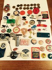 Flea Market Junk Drawer High Value Pinbacks Wheats Old Stuff
