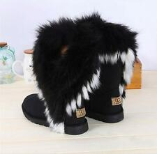 woman shoes Boots Winter Snow Ankle Warm fur inside big us size 7,8,8.5,9,10,11