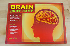 BRAIN BOOT CAMP BOOST IQ SHARPEN YOUR MOEMORY IN 7 DAYS  BY TONY BUZAN