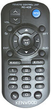 KENWOOD KDC-X995 KDCX995 GENUINE RC-405 REMOTE *PAY TODAY SHIPS TODAY*