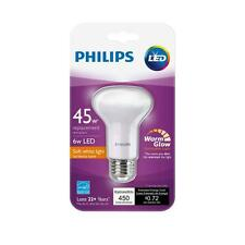 2-pack / Philips Led Soft White BR20 45w Light Bulb Warm Glow