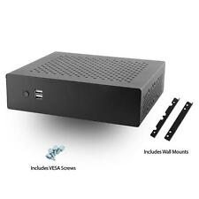 MITXPC MX500 Industrial Fanless Mini-ITX Case w/ WallMount Bracket & VESA Screws
