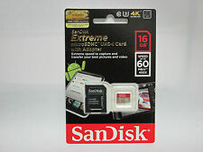 Sandisk 16G Micro Extreme 4K Ultra HD SD card for Sony DSC TX30