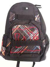 DC Shoe Men's Entry Level Skate Backpack - Nelstone - Black & Neons AMM453