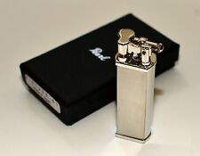 Tsubota Pearl BOLBO new Satin Silver Pipe Lighter Seki City, Japan Old Boy best!