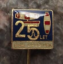 Tesla UVR Research Institute of Radio Engineering 25th Anniversary Pin Badge