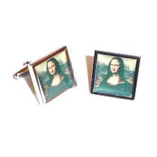 Mona Lisa RITRATTO FOTO GEMELLI con Sacchetto Regalo Arte famoso artista presente