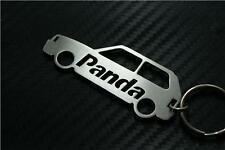 For Fiat PANDA CAR keyring keychain porte-clés 4x4 MULTIJET FIRE100HP CROSS TREK