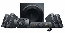 LOGITECH z-906 suono surround 5.1 ALTOPARLANTI HOME THEATER CINEMA THX Boxed NUOVO!!