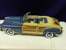 Franklin Mint Model 1948 CHRYSLER TOWN AND COUNTRY Convertible LE Die-Cast D165