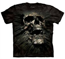 3-D Breakthrough Skull T Shirt Ripping [Adult Medium] by The Mountain