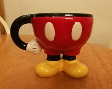 Official Disney Mickey Mouse Mug With Legs