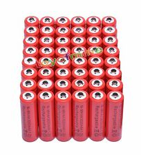 48 AA 3000mAh Ni-MH rechargeable battery cell /RC Red