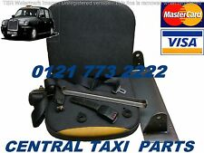 LTI TAXI TX1 USED FRONT PASSENGER FLIP DOWN SEAT FULL KIT WITH BELTS BRACKETS