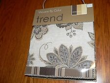 """Trend Wovens By Color """"Sand/Earth"""" Upholstery Sample Swatch Fabric Book #B1214-4"""