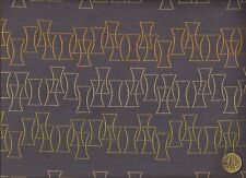blue  Mid Century Modern Geometric Contemporary Upholstery  Fabric