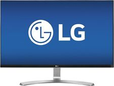 "LG 27"" 4K Gaming Monitor IPS LED UHD FreeSync 5ms 178° Angle 27UD68-W White NEW"