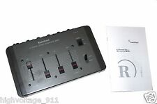 "Radio Shack 4 Channel Stereo Microphone Mixer Stereo/Mono w/ RCA & 1/4"" Jacks"