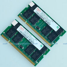Hynix 2GO 2x1GO PC2700 DDR333 333mhz 200PIN Laptop SO-DIMM Memory Notebook RAM